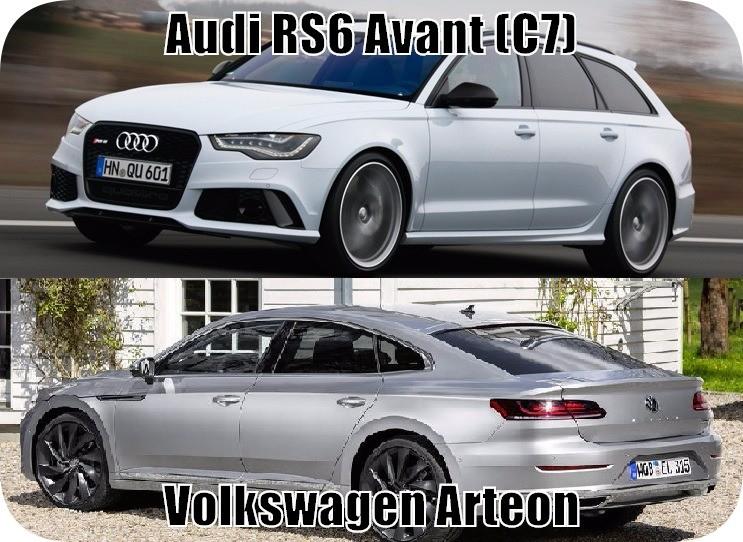 Обзор автомобилей Audi и Volkswagen